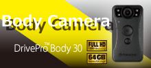 あなたを守る、第三の目。最大12時間録画可能なウェアラブルカメラ『ボディカメラ』。